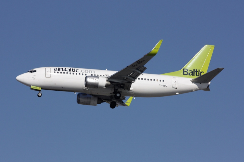 An airBaltic Boeing 737 [Image: Wiki Commons]