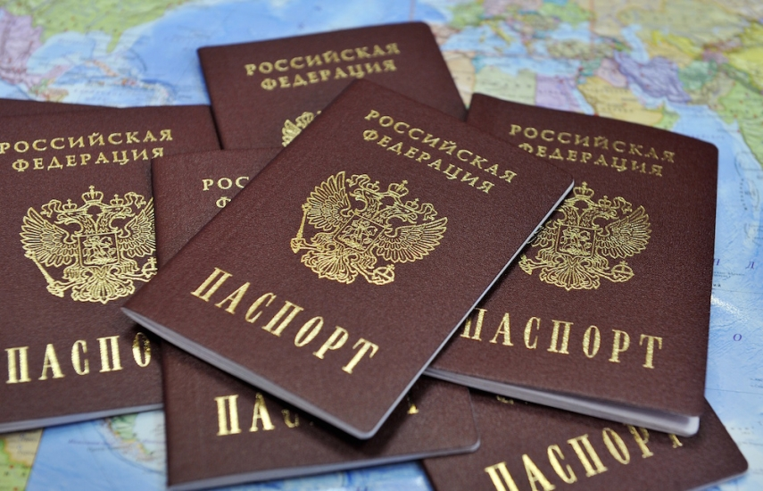 Passports of the Russian Federation [Image: Novosti Mira]