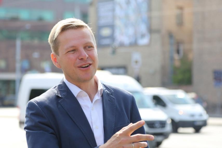 Vilnius Mayor Remigijus Simasius [Image: 15min.lt]