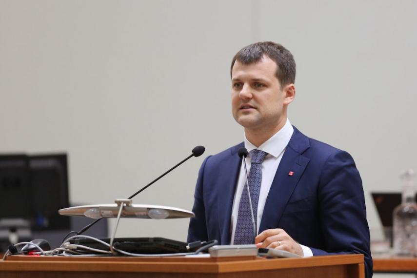 Vilnius Vice-Mayor Gintautas Paluckas [Image: 15min.lt]