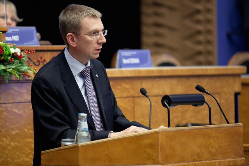 Latvian Foreign Minister Edgars Rinkevics [Image: Wiki Commons]