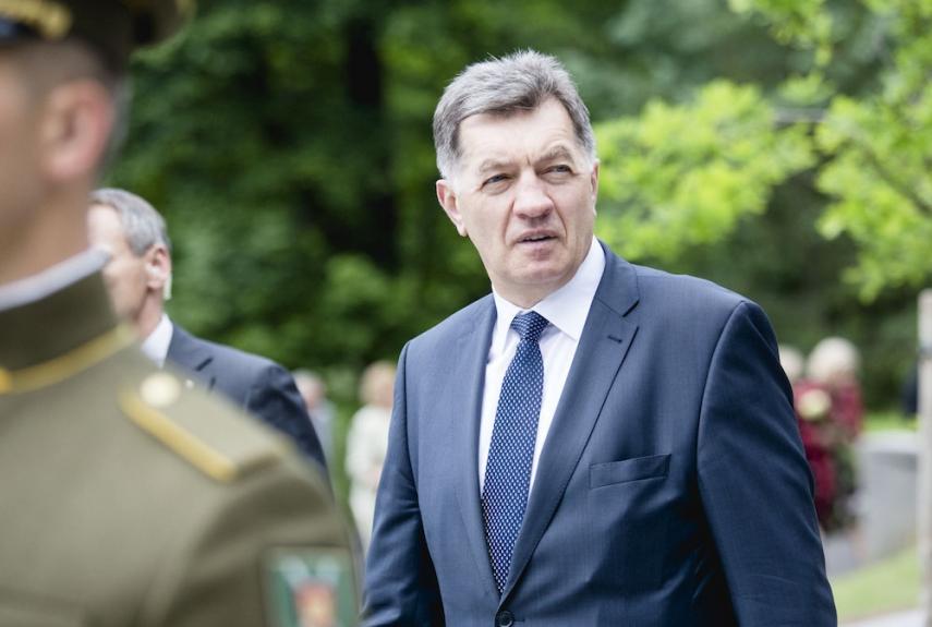 Lithuanian Prime Minister Algirdas Butkevicius