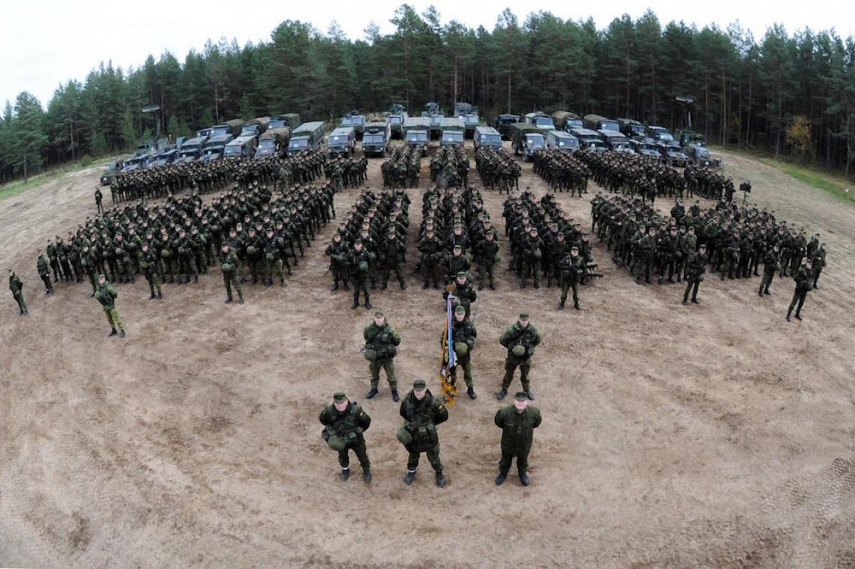 Lithuania's Iron Wolf Brigade will join the exercises in Kaunas [KAM.lt]
