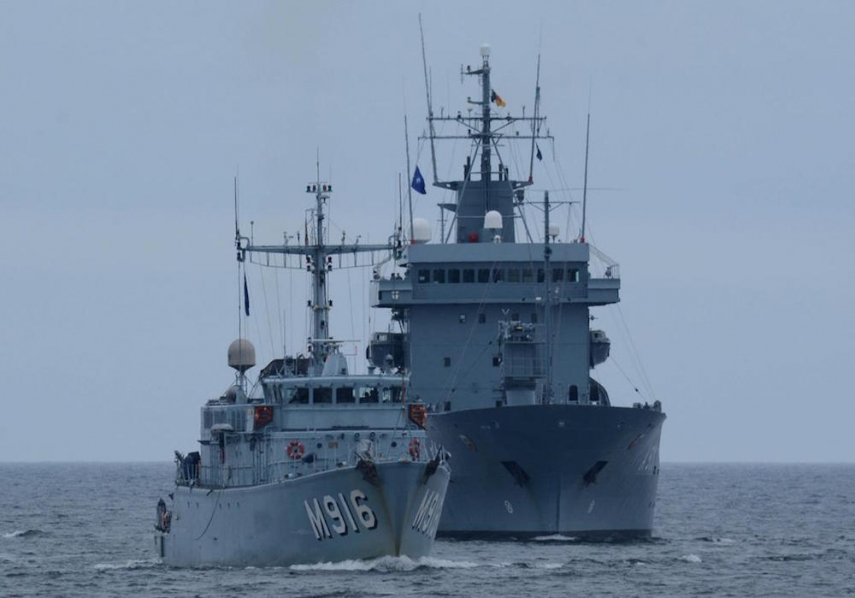 Ships belonging to Lithuania's navy [Image: navaltoday.com]