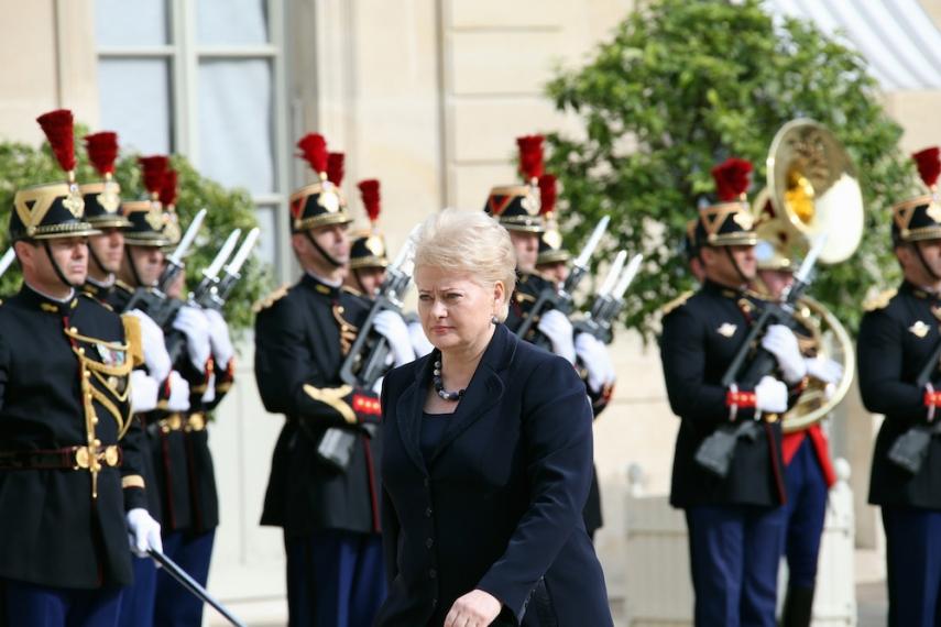 President Grybauskaite [Image: LRP.LT]