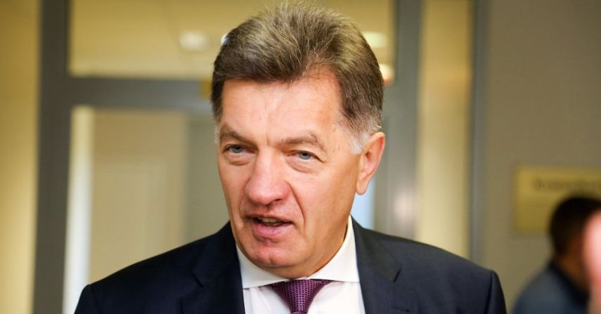 Lithuanian President Algirdas Butkevicius [Image: 15min.lt]