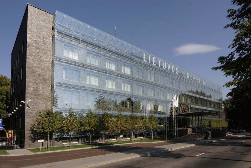The Lietuvos Energija building in Klaipeda, Lithuania [archmap.lt]