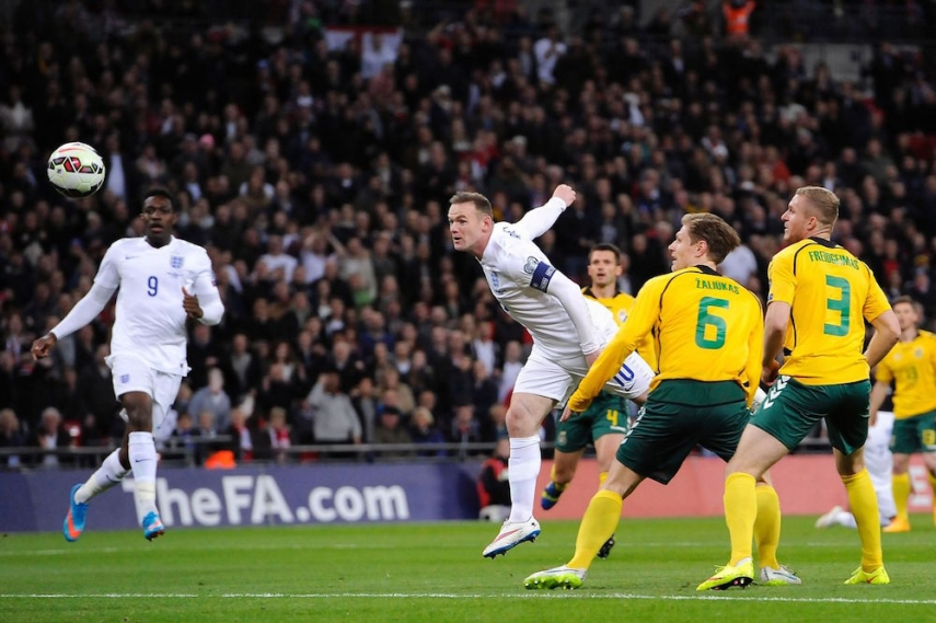 Lithuania will play England on October 12 [Image: Manchester Evening News]