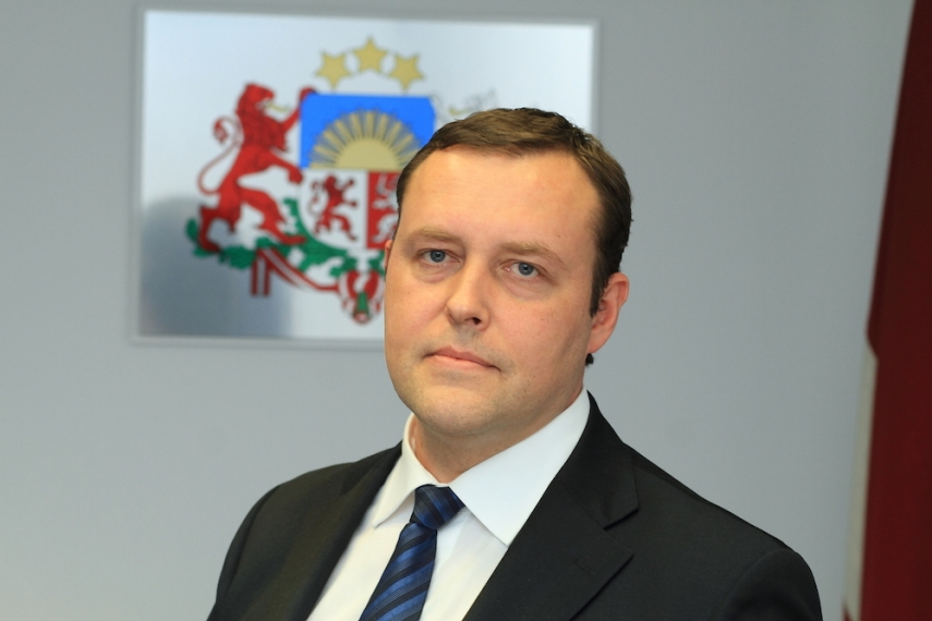 Latvian Minister Richards Kozlovskis [Image: lat.gorod.lv]