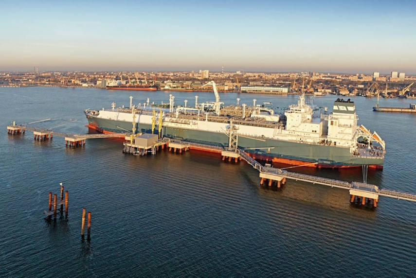 The Independence in Klaipeda port [Image: lngworldnews.com]