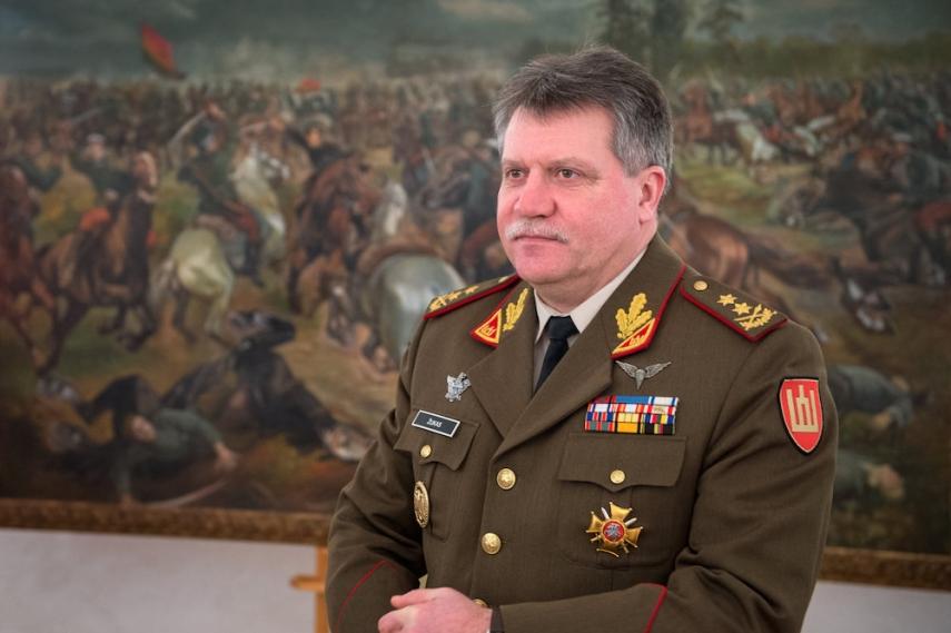 Lieutenant General Zukas [Image: 15min.lt]
