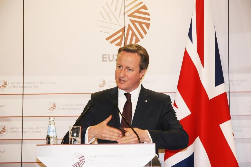British Prime Minister David Cameron [Image: diena.lv]