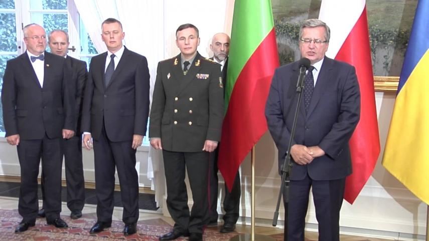 LITPOLUKRBRIG representatives [Image: YouTube]