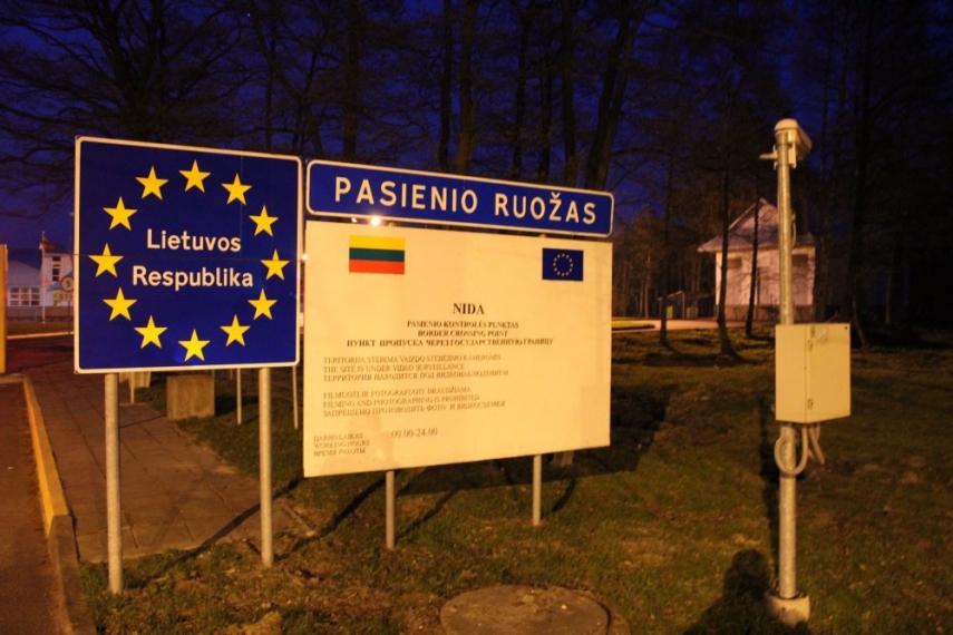 The Lithuanian/Kaliningrad border [Image: http://geosite.jankrogh.com]