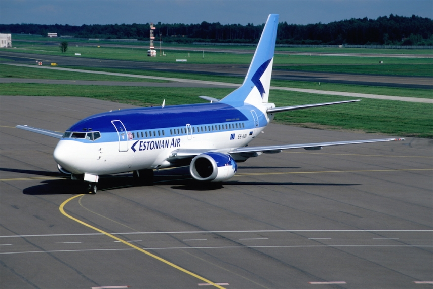 A former Estonian Air Boeing 737 [Image: Wiki Commons]