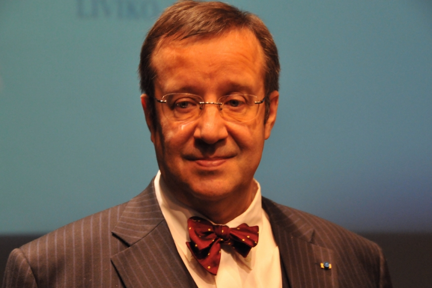 Estonian President Ilves [Image: Wiki Commons]