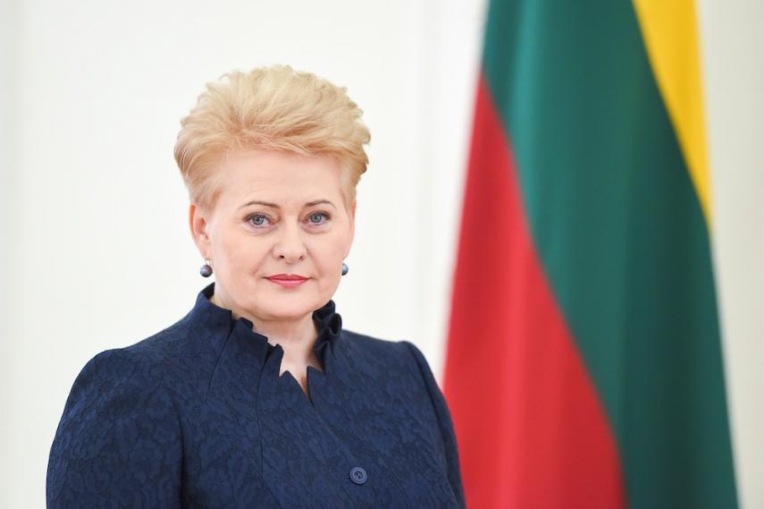 Lithuanian President Grybauskaite [Image: fm99.lt]