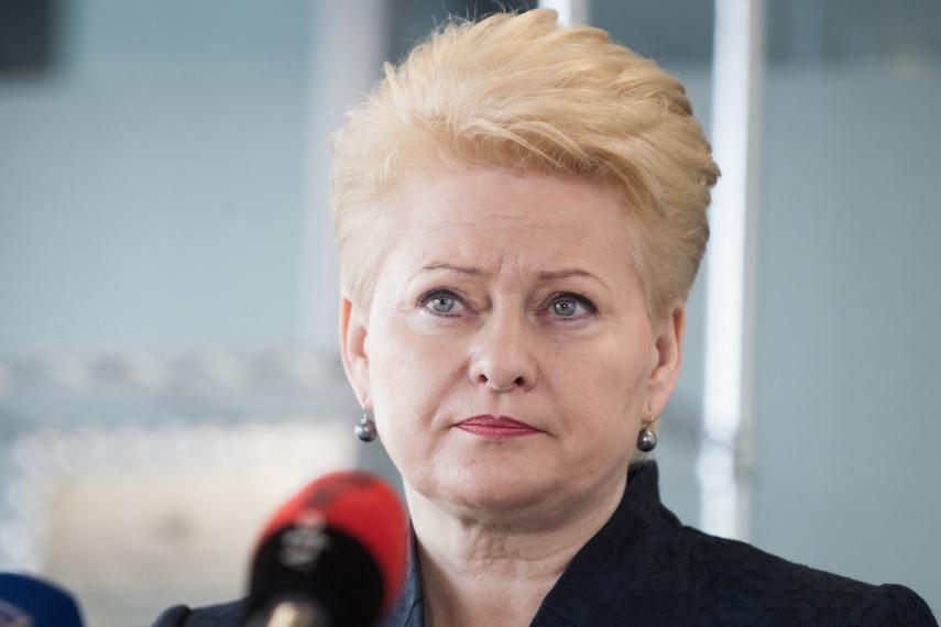 Dalia Grybauskaite [Image: 15min.lt]