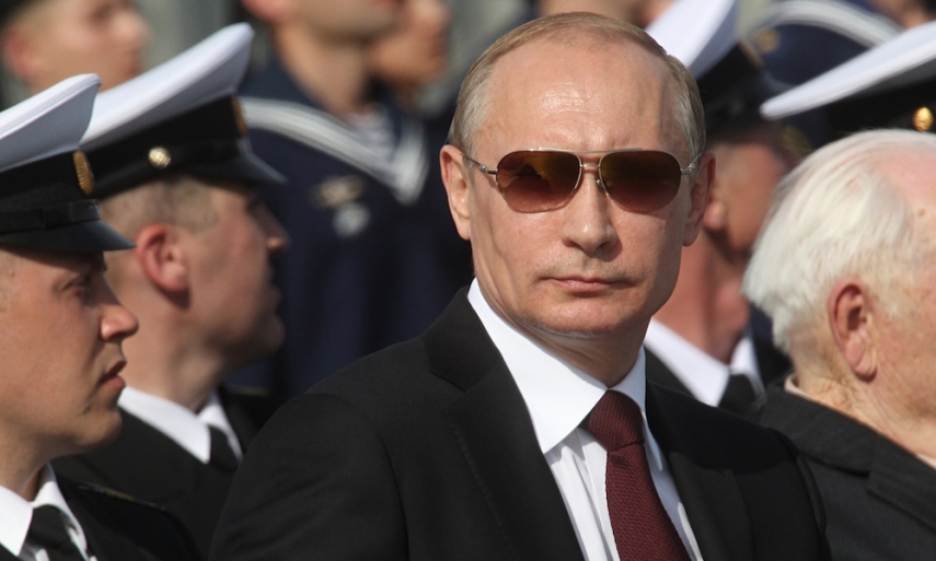 Russian President Vladimir Putin [Image: The Guardian.com]
