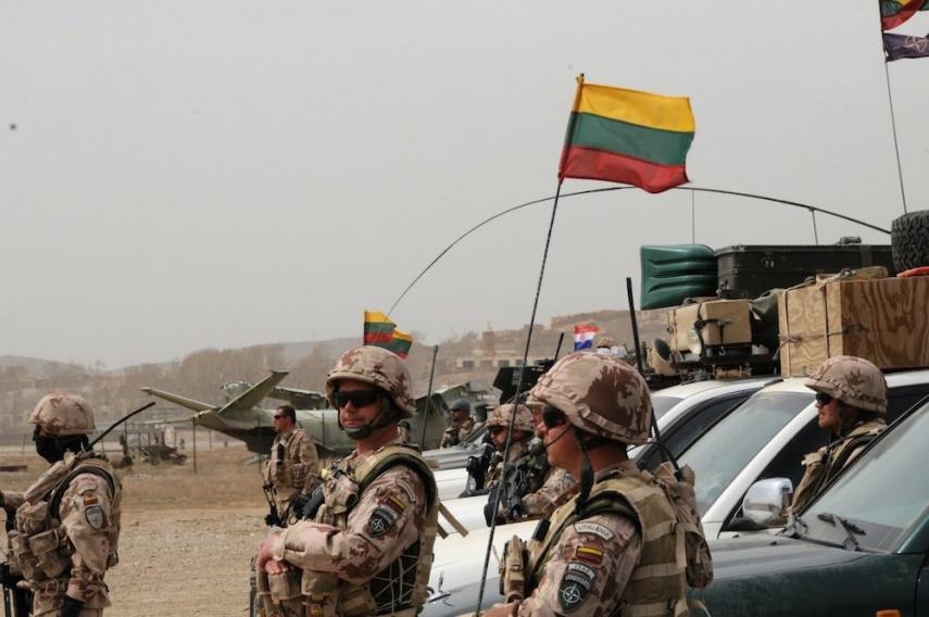 Lithuanian troops [Image: GBTimes.com]