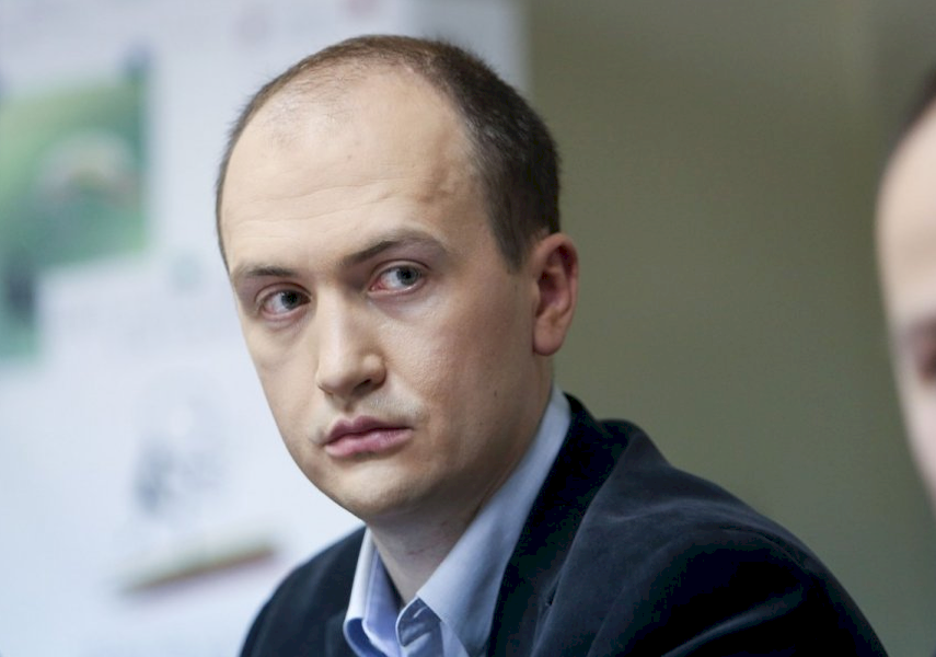 WATCHDOG: Sergejus Muravjovas, the head of the Lithuanian branch of Transparency International