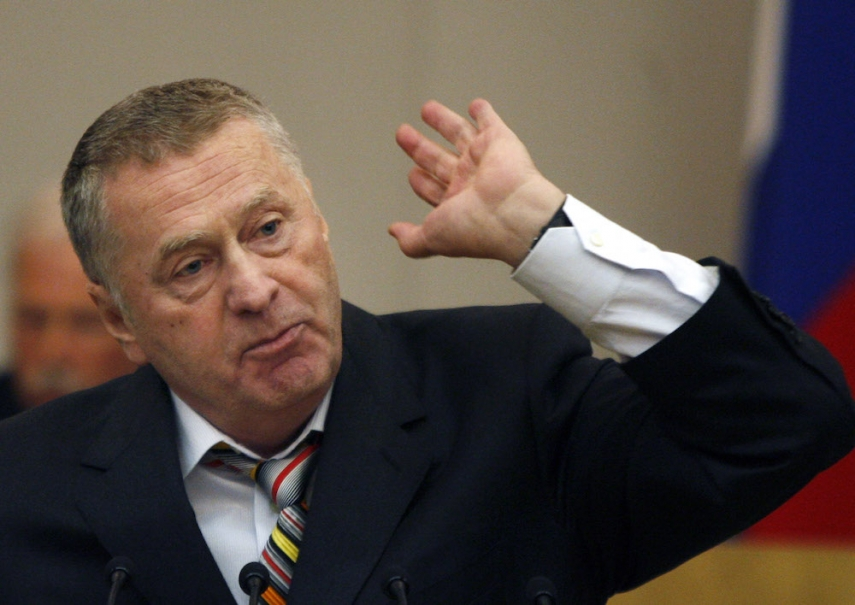 Zhrinovsky is one of the reasons why RTR Planeta has become pay-to-view in Lithuania [Image: UAToday]