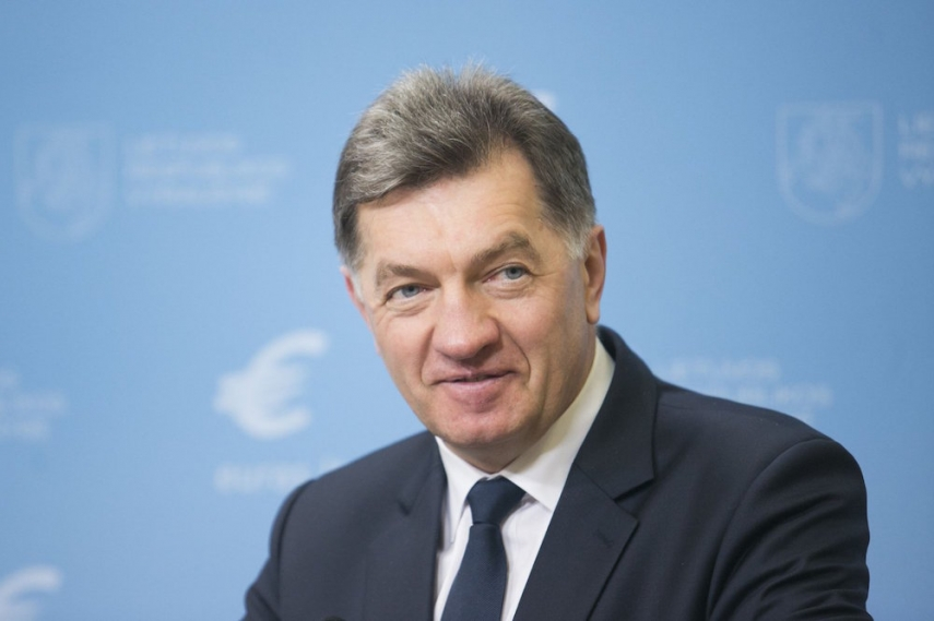 Lithuanian Prime Minister Algirdas Butkevicius has called for the removal of children from unsafe homes [Image: 15min.lt]