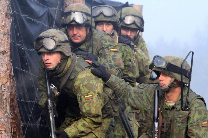 Lithuanian re-introduced conscription in 2015 [Image: europe.newsweek.com]