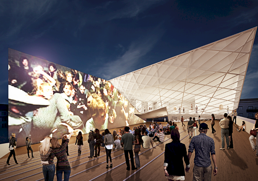CUTTING EDGE: The plans for Vilnius' new MAC are bold and brilliant.