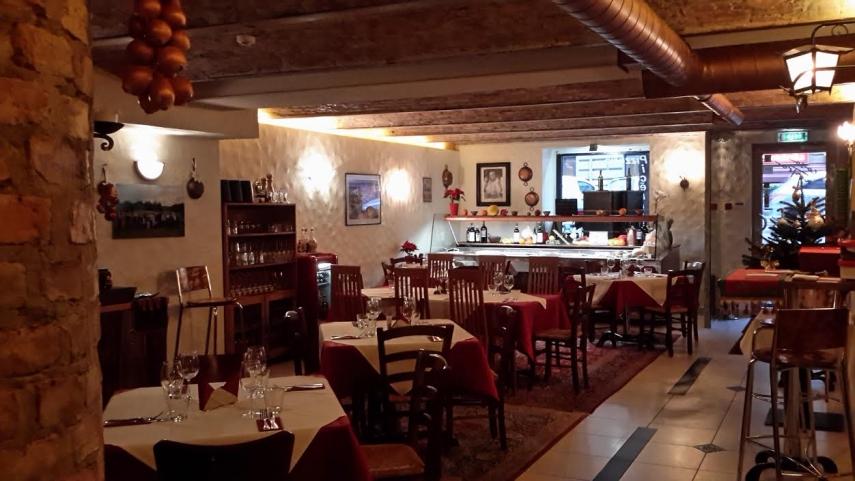 BUON APPETITO: Casa Nostra has a homely feel.