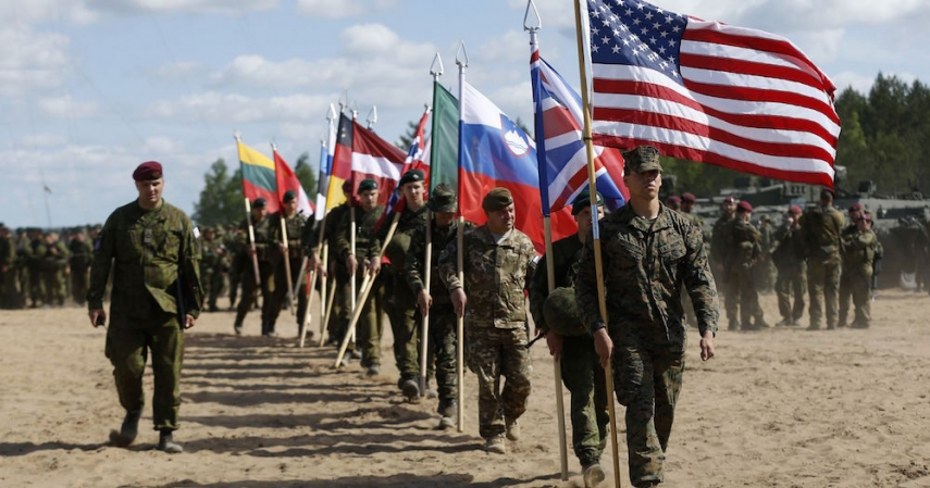 SOBERING: NATO troops would suffer heavy losses against Russia in Baltic invasion [Image: militarytimes.com]