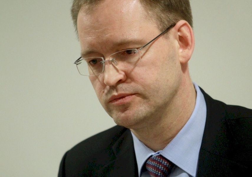 Former head of banking regulator Kristaps Zakulis who stepped down in January 2016 under the threat to fire him.