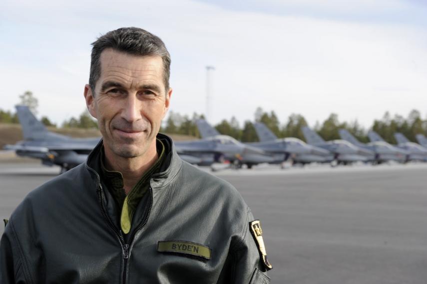 Commander Micael Byden [Image: forvarsmakten.se]