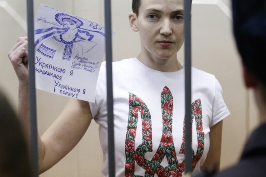 Nadiya Savchenko [Image: washingtonpost.com]