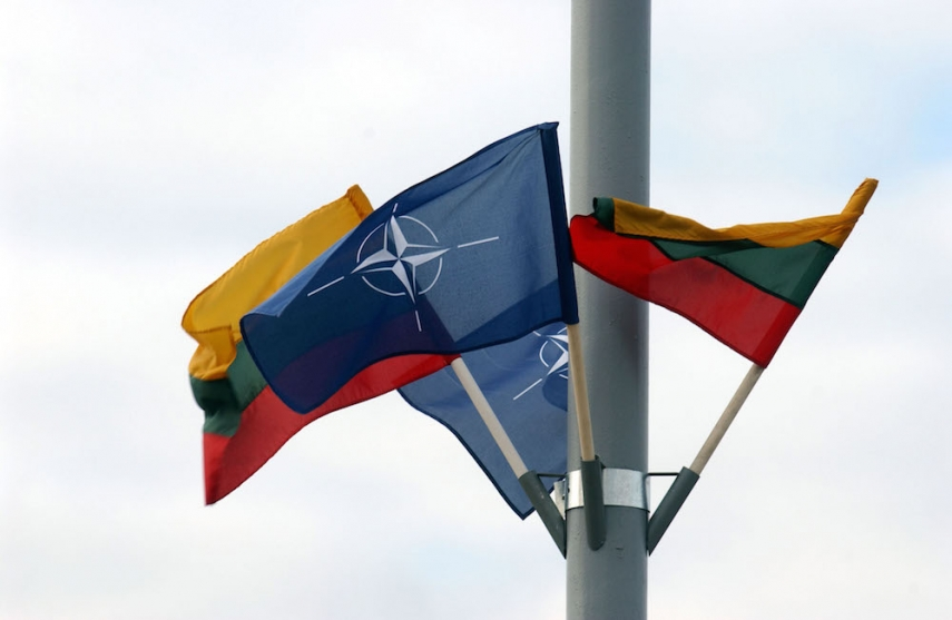 Lithuania, Latvia and Estonia joined NATO in 2004 [Image: NATO.int]