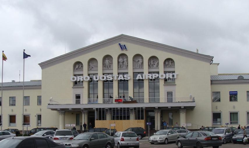Vilnius Airport [Image: mapio.net]