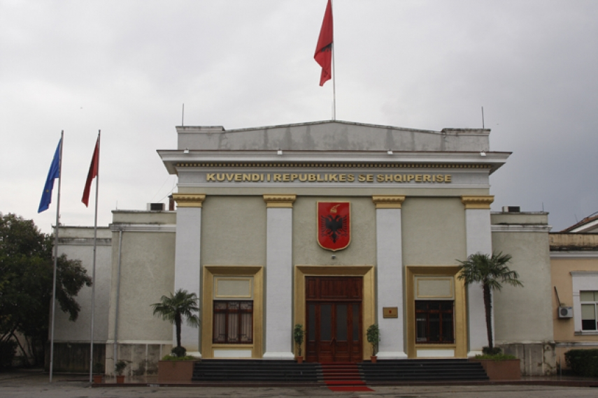 Seat of Parliament in Tirana