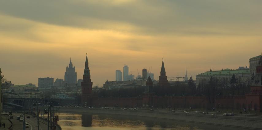 Moscow skyline [Adam Baker]