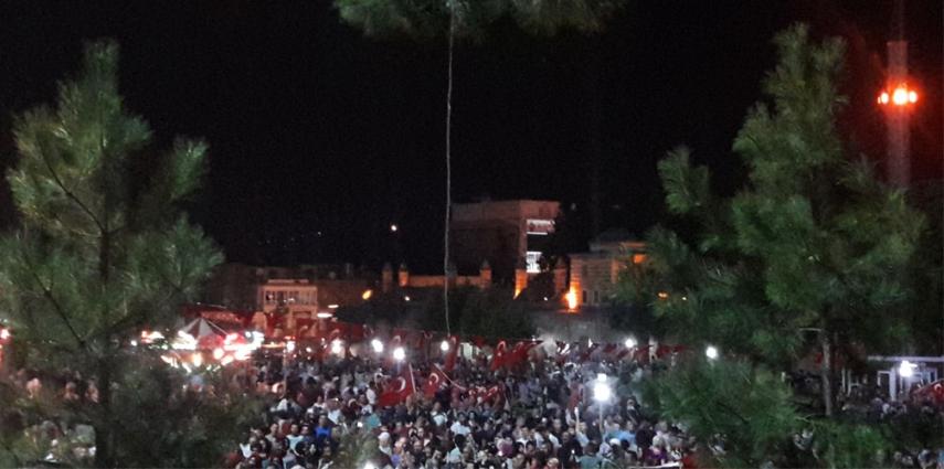 Turkish coup d'état attempt democracy protests on June 16, 2016 [Pivox]