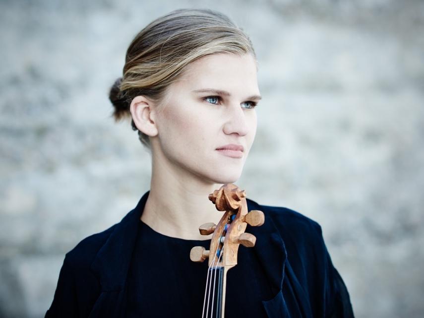 Violinist and singer Maarja Nuut.