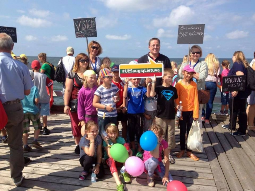 "Palanga mayor Sarunas Vaitkus is happy: ""The endeavor has been fulfilled!"""