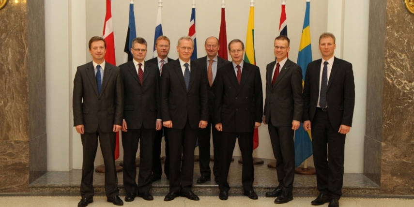 Meeting of the foreign ministry secretaries general of the NB8 in 2010 [Estonian Foreign Ministry]