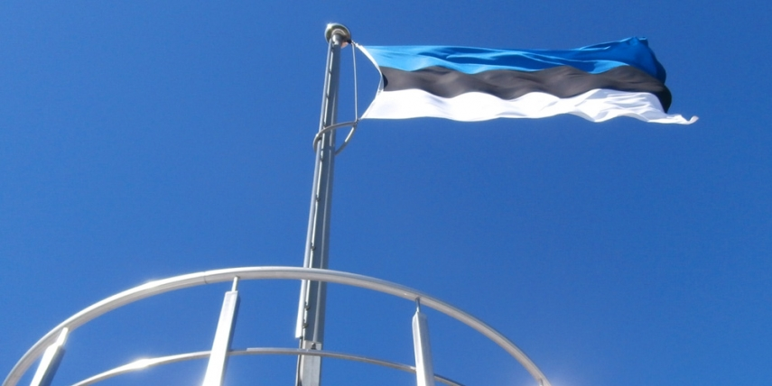 Estonia's flag flies high for 25 years [Pjotr Mahhonin]