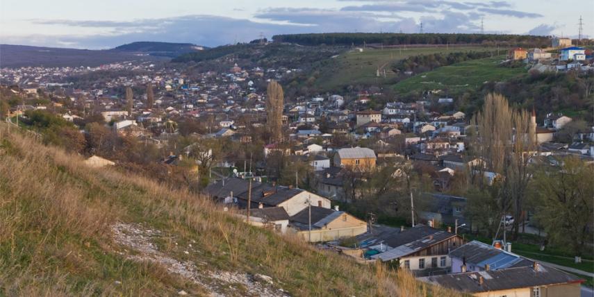 View of Bakhchisaray, Crimea [© A.Savin, Wikimedia Commons]