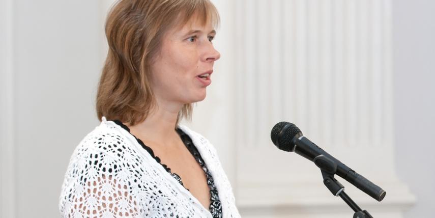 Kersti Kaljulaid [Andres Tennus, Tartu Ulikool]