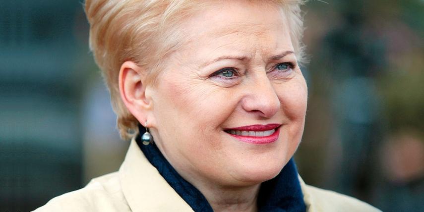 Dalia Grybauskaite [Augustas Didzgalvis]