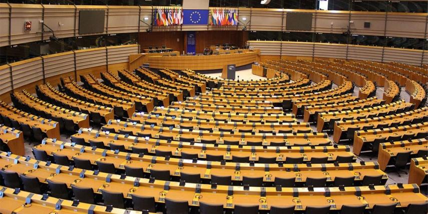 European Parliament, Brussels [Corentin Bechade]