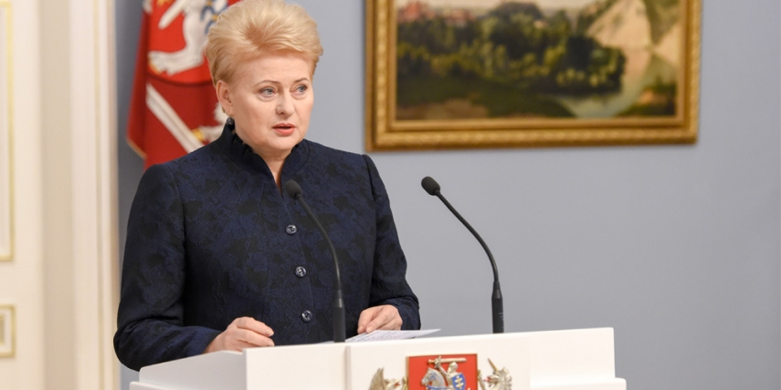 Statement by the President on the formation of the government [Robertas Dackus, Official Office of the President of the Republic of Lithuania]