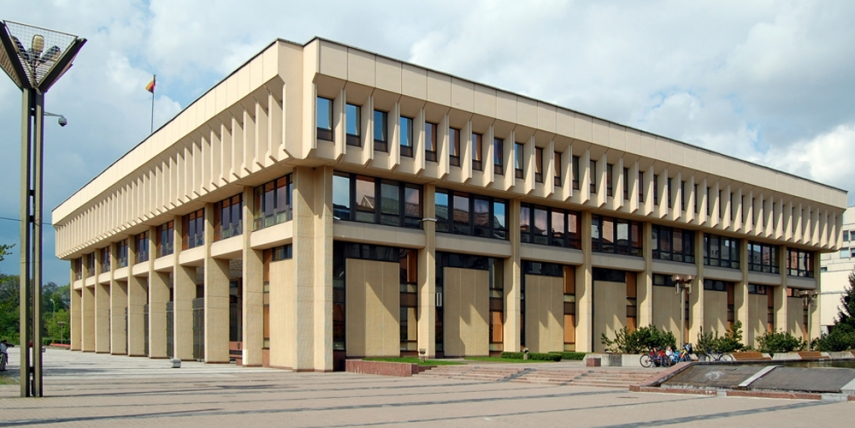 Seimas Palace in Vilnius [Marcin Bialek]