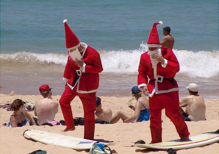 Sweltering summer heats can make December in Australia scorching hot and humid.